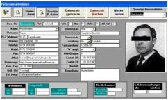 Screenshot für FLORIAN II Personalverwaltung